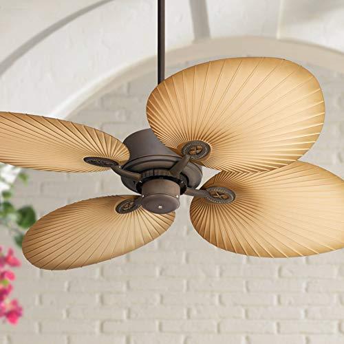 52' Casa Vieja Aerostat Wide Palm Outdoor Ceiling Fan