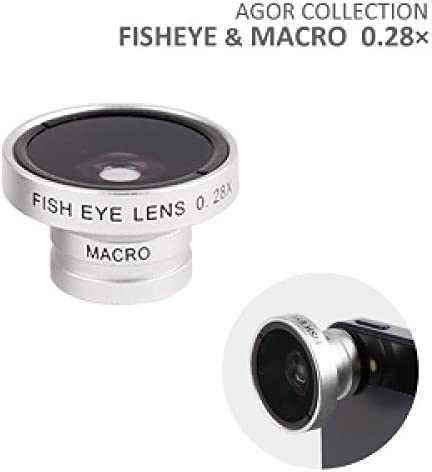 Wide Macro Ultra Zoom Lens s x 0.28 System For Smartphone (Silver): Amazon.es: Electrónica