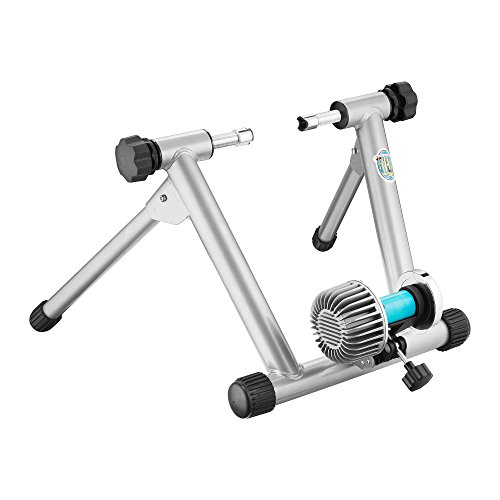 RAD Cycle HydroMag Trainer Bicycle Trainer Indoor Portable Fluid Resistance Exercise Work Out Allows You to Work Out With Your Bike by RAD Cycle Products