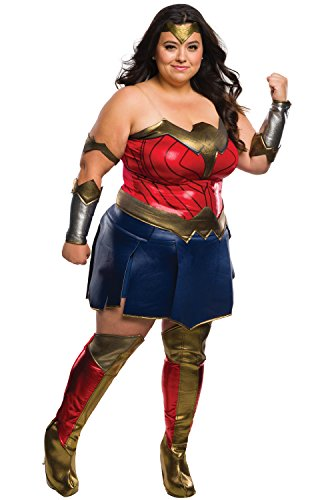 Batman v Superman: Dawn of Justice - Wonder Woman Deluxe Adult Costume Plus