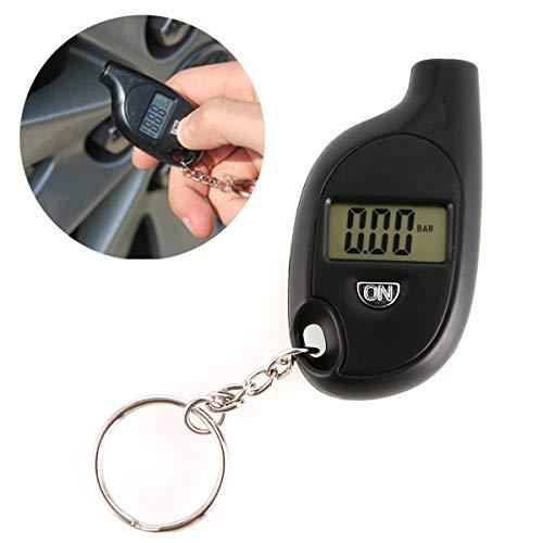 Mini Keychain EDC Digital LCD 3-150 PSI Tire Tyre Wheel Air Pressure Gauge Tester Monitor