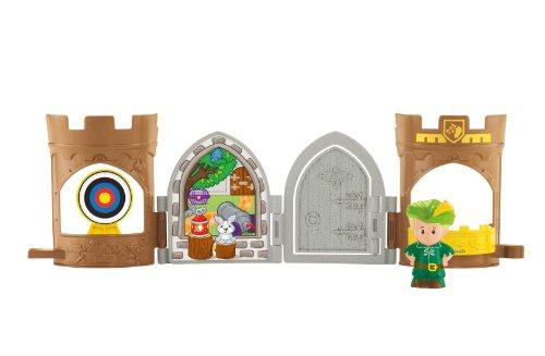 (Fisher-Price Little People Robin Hood Pop Open Castle)