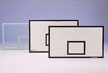 Baloncesto de objetivo Tabla 180 x 120 cm, de GFK, taladrado ...