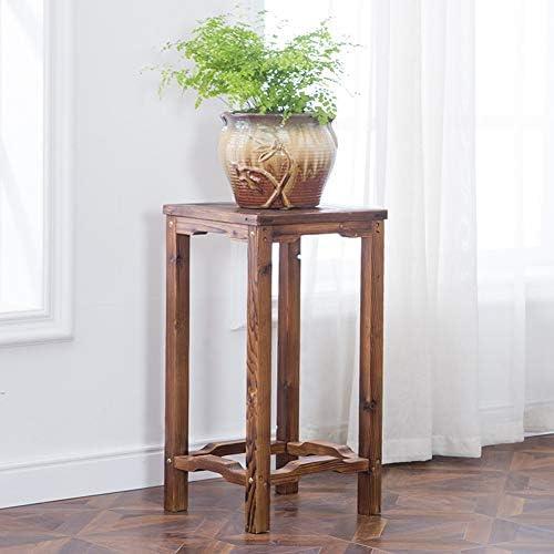 屋外フラワースタンド 木の花の立場の屋内自由で永続的な植木鉢の鍋の立場の屋外の直立した花の陳列だな、2サイズ XJMSB (Color : A)