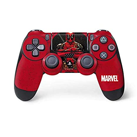 Amazon.com: Marvel Deadpool PS4 dualshock4 Controller Piel ...
