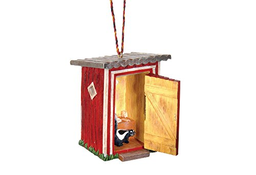 Outhouse Ornament (Outhouse Ornaments)
