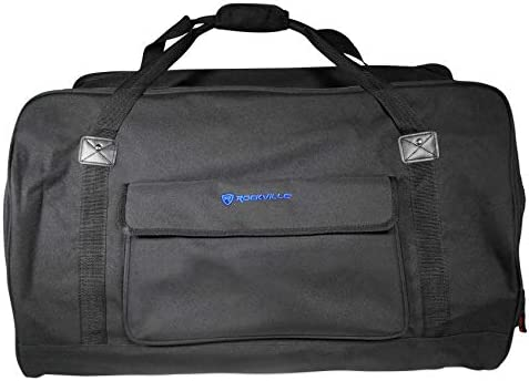 Rockville Weather Proof Speaker Bag Carry Case For Samson XP115A 15 Speaker / Rockville Weather Proof Speaker Bag Carry Case For Samson XP115A 15 Speaker