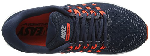Nike Air Zoom Vomero 11 Lauf Herrenschuhe Squadron Blau / Blau Grau / Total Crimson / Weiß