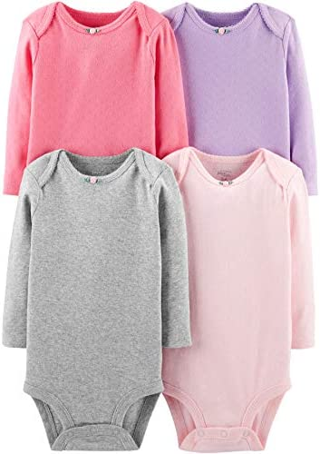 Simple Joys Carters 4 pack Bodysuits product image
