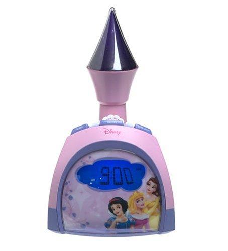 Disney Princess Clock Radio with Night Light