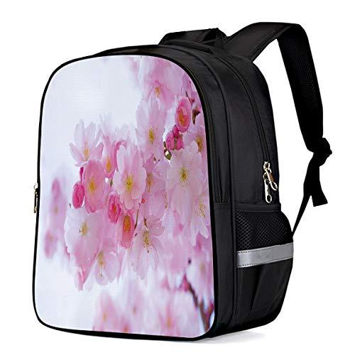 Children Primary School Bags Peach Blossoms Bloom 3D Digital Printing 3D Printing Kids Backpacks