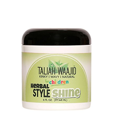 Curly Wavy Hair Styles - Taliah Waajid Kinky Wavy Natural Herbal Style and Shine, 6 Ounce