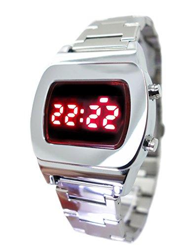 Retro 70s Style Led Watch - 1