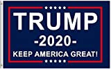 Donald Trump for President 2020 Keep America Great Flag 3x5 Feet with Grommets: more info