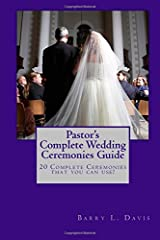 Pastor's Complete Wedding Ceremonies Guide Paperback