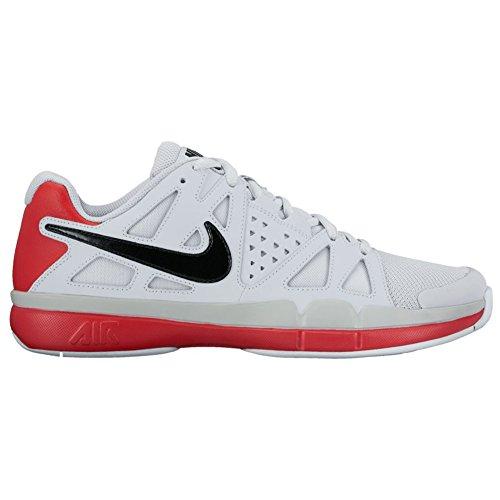 New Nike Men's Air Vapor Advantage Tennis Shoe Platinum/R...