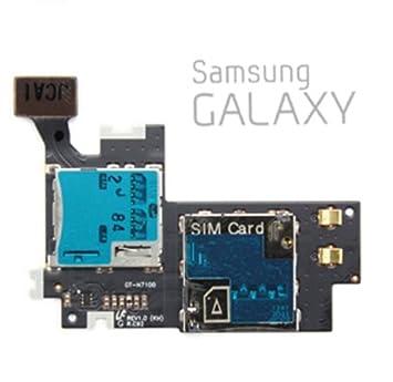 Lector de tarjeta SIM Samsung Galaxy Note 2 N7100: Amazon.es ...