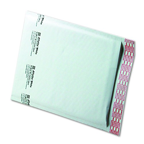 Quality Park Sealed Air Jiffy Lite Cushioned Mailers, Self Seal, #2, 8.5 x 12 Inches, Pack of 100 (SEL39258)