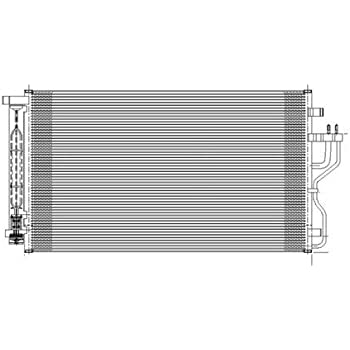 976062E000 HY3030133 New A//C AC Condenser for Kia Sportage Hyundai Tucson 05-09