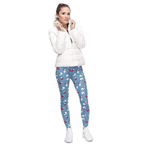 Classiche Di Yoga Donna Lga49178 Leggings A Vita Ragazzi Alta Women Qualità Pantaloni Tee Stampa Fitness Legging Natale ngFx8wA8qd