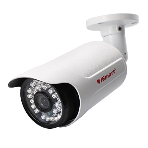 iSmart 960P AHD Bullet Security Camera System Outdoor Waterproof Night Vision, White
