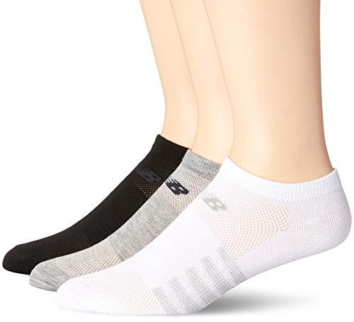 New Balance Womens 3 Pack Lifestyle No Show Socks