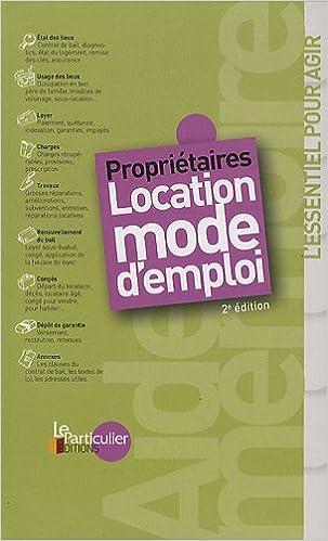 Téléchargement Propriétaires : location mode d'emploi pdf, epub ebook