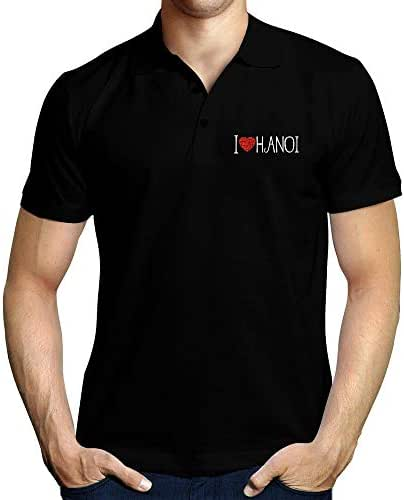 Idakoos I Love Hanoi Cool Style Polo Shirt