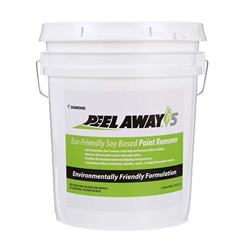 (Dumond Chemicals, Inc. 5005 Peel Away 5 Eco-Friendly Soy Based Paint Remover, 5)