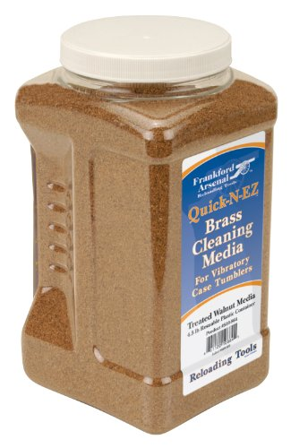 Frankford Arsenal 881538 Arsenal Brass Cleaning Walnut Media (Cleaning Media)