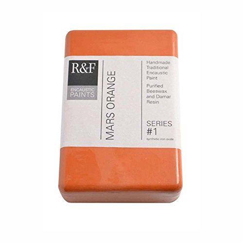 R&F Encaustic 333ml Paint, Mars Orange