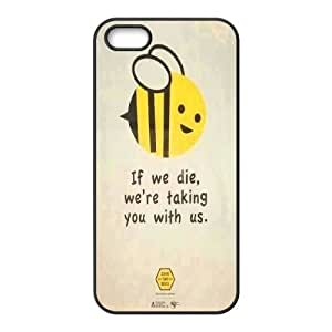 fashion case Custom High Quality WUCHAOGUI cell phone case cover Honey Bee Art Design n35ckekfVbb6 protective case cover For Apple iphone 5c case covers - case cover-19