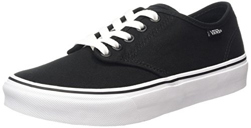Canvas Black Trainers Vans Camden Black Stripe 187 Women's White wq1gYFX