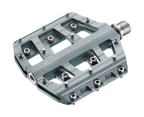 VP Components Vice Downhill or Freeride Pedals (Pack of 2) (9/16-Inch, Gray) ()