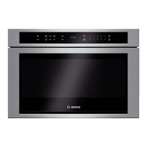 Bosch HMD8451UC 800 24' Stainless Steel Microwave Drawer