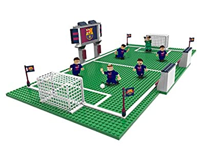 Real Barcelona Soccer Gameday Field Set