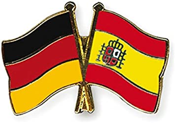 5 Pack Alemania - España del Pin Yantec bandera de: Amazon.es ...
