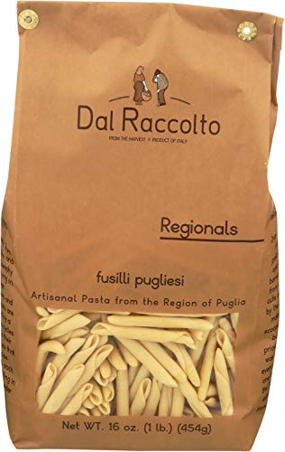 Dal Raccolto Fusilli Pugliese Pasta, 1.0 lb ()