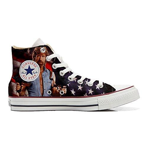 Converse All Star zapatos personalizadas Unisex (Producto Artesano) telefilm cult texas