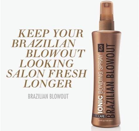 Brazilian Blowout Ionic Bonding Spray Step 3  3 4Oz 100Ml