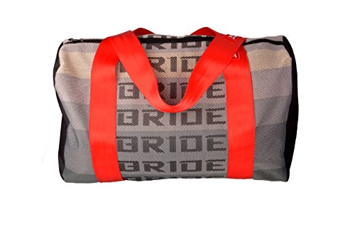 JDM Bride Racing Duffle Bag with Red Spco