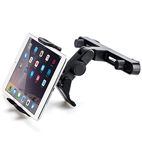 Tablet Car Mount iKross Back Seat Headrest Mount Holder for Apple iPad Pro 12.9, iPad Pro 10.5, iPad Pro 9.7, iPad Air / Mini, Samsung Galaxy Tab, and 7