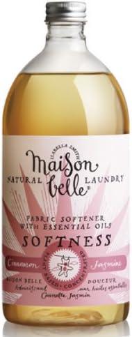 Maison Belle Suavizante ecológico para ropa 1 litro: Amazon.es: Hogar
