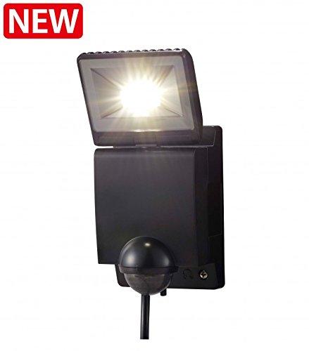タカショー HIA-W01K LEDセンサライト1型 ブラック B00MF0OEQO 14256