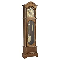 Grandfather Clock Modern Floor Face Corner Wall Chime Clocks Cherry SALE (Oak)