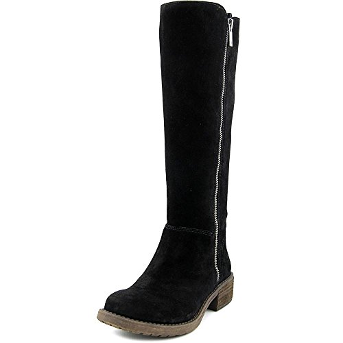 Lucky Women's Desdie Riding Boot, Black, 8 M US