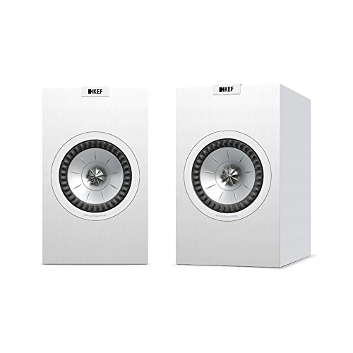 KEF Q150 Bookshelf Speakers (Pair, White)