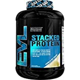 Evlution Nutrition Stacked Protein Powder (4 LB, Vanilla Ice Cream)