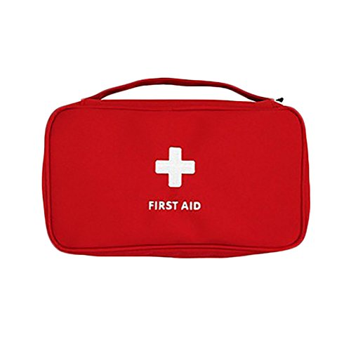 Waterproof First Aid Kit Bag Red - 3