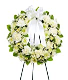 Big Sympathy Arrangement - Same Day Funeral Flowers Delivery - Condolence Flowers - Flowers For Funeral - Funeral Flower Arrangements - Funeral Plants